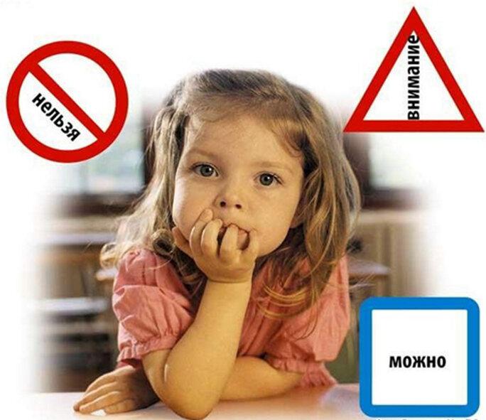 Слово «нельзя» в жизни ребенка