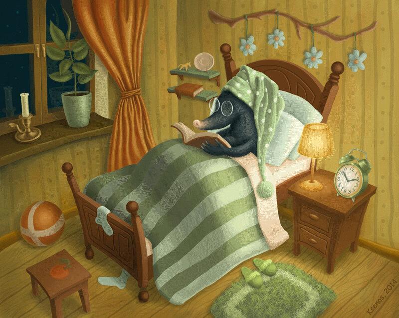 Сонные сказки на ночь